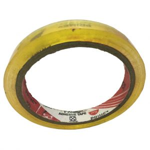 Prime-Transparent tape-50 Y-0.5 inch-Each unit