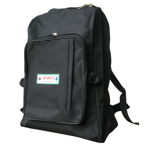 Double shoulder-School bag-Small-Black-Anwar&Sons-Each unit