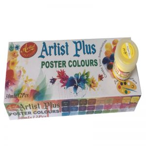 Artist Poster color 12 pcs