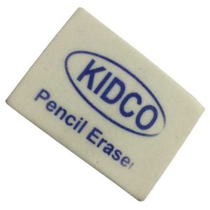 Kidco Eraser white Pack of 30
