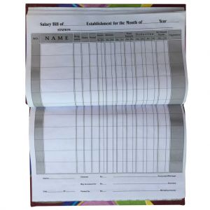 Cash book-Register-urdu-Each unit