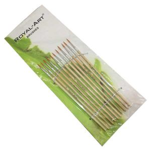 Royal Paint brushes Pack of 12